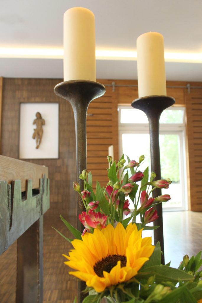 Kapelle Gottesdienste und Meditation