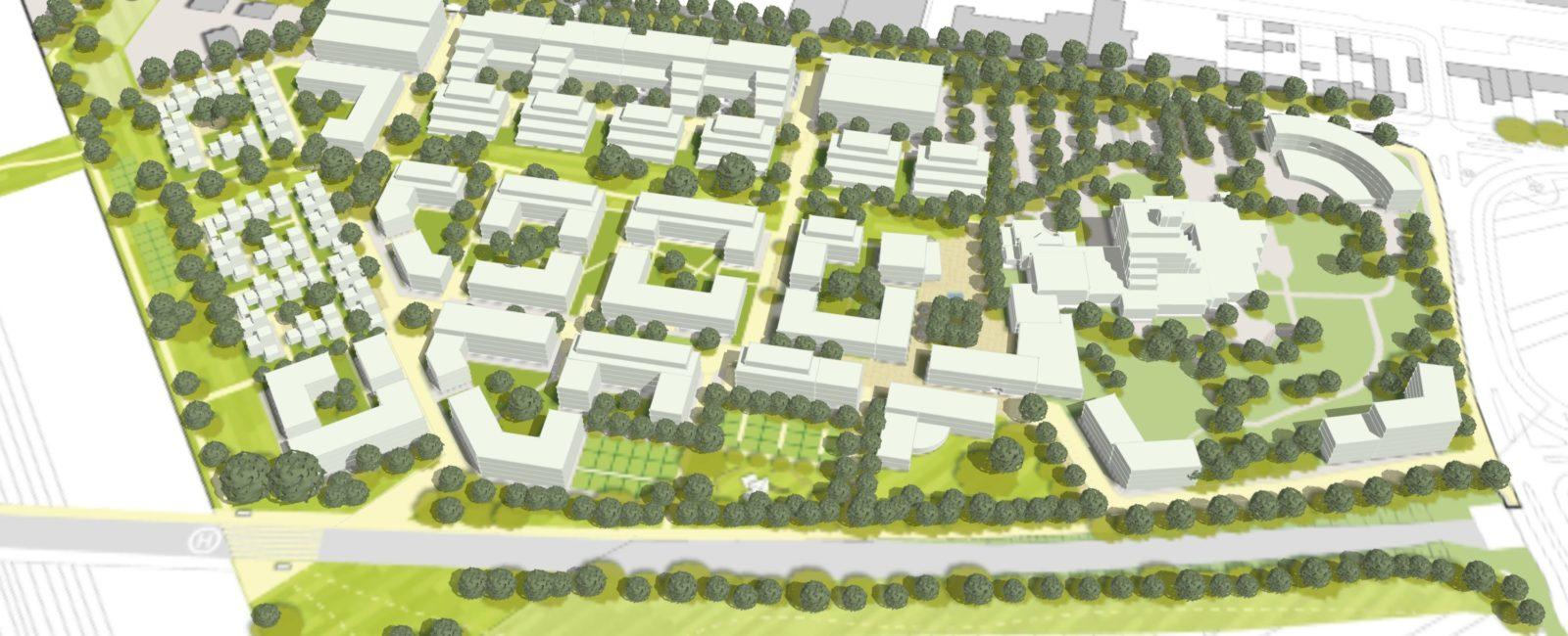Stadtrat gibt grünes Licht für Heinrich-Pesch-Siedlung