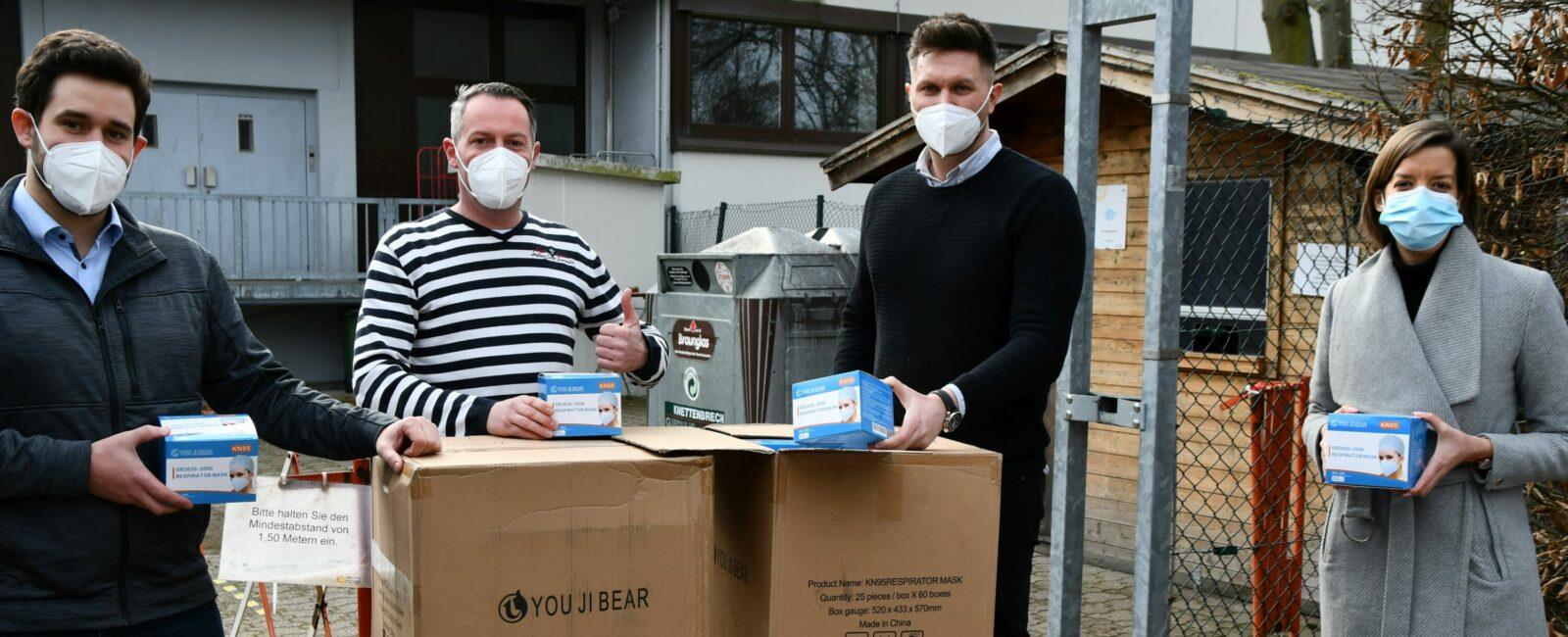 """6.000 Masken für """"Mahlze!t LU"""""""