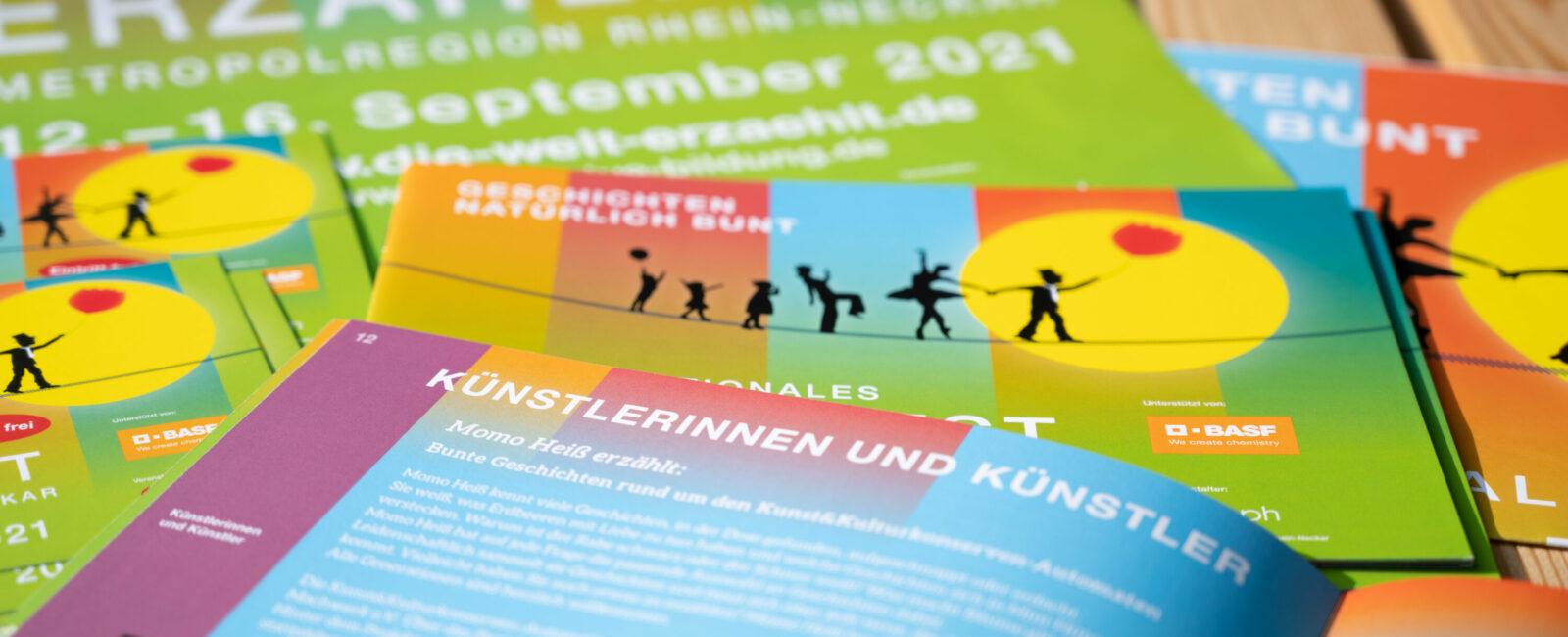 Das Programm des IX. Internationalen Erzählfests ist da
