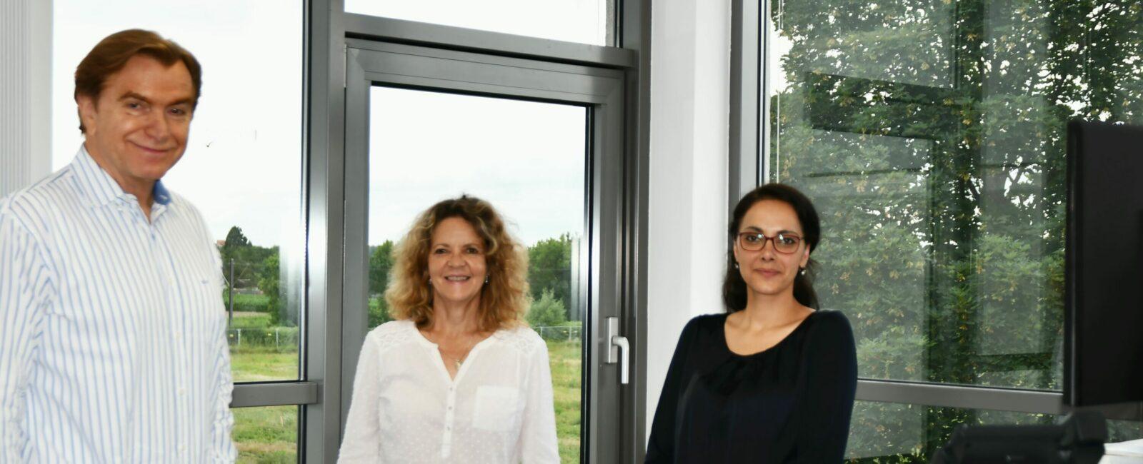 Neue Büros für Team der Heinrich-Pesch-Siedlung